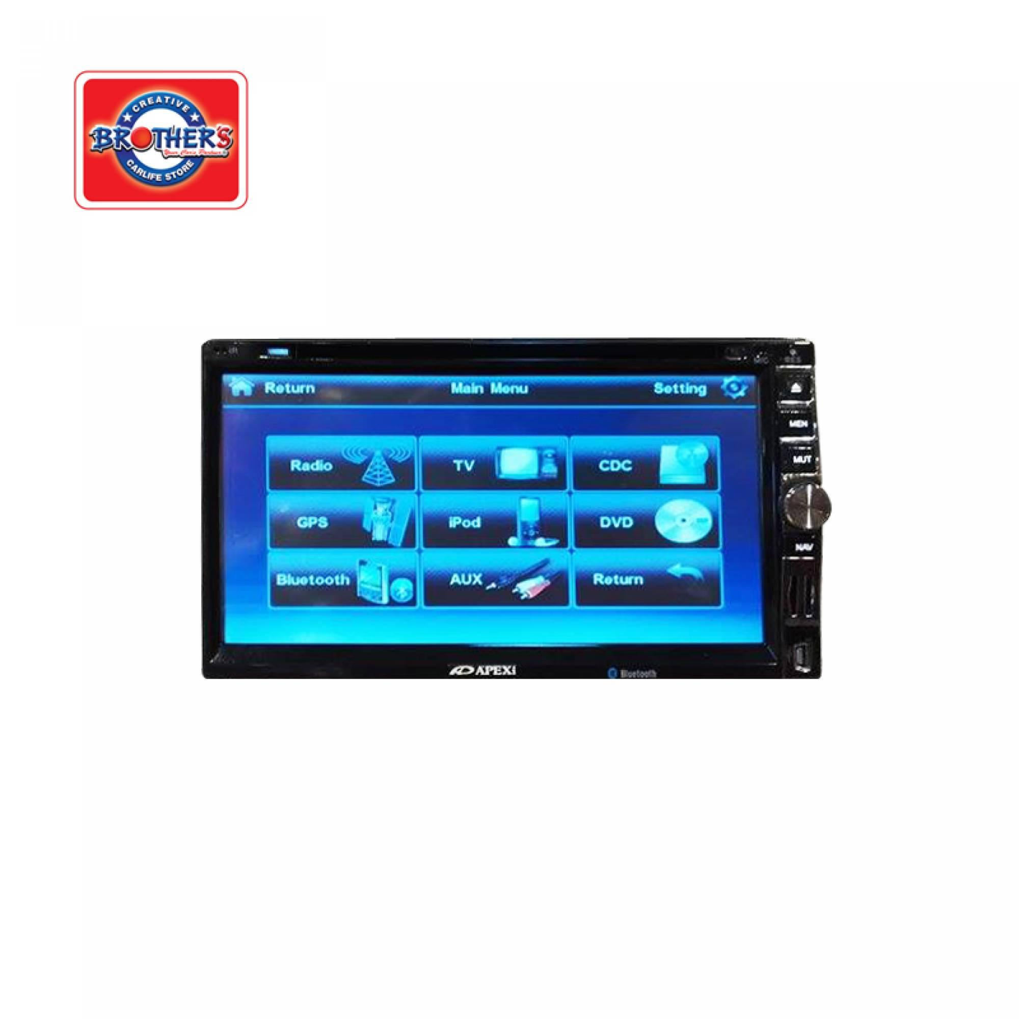 Apexi Apx6969 Double Din Player Brothers Factory Outlet M Sdn Turbo Timer Wiring Post Laju