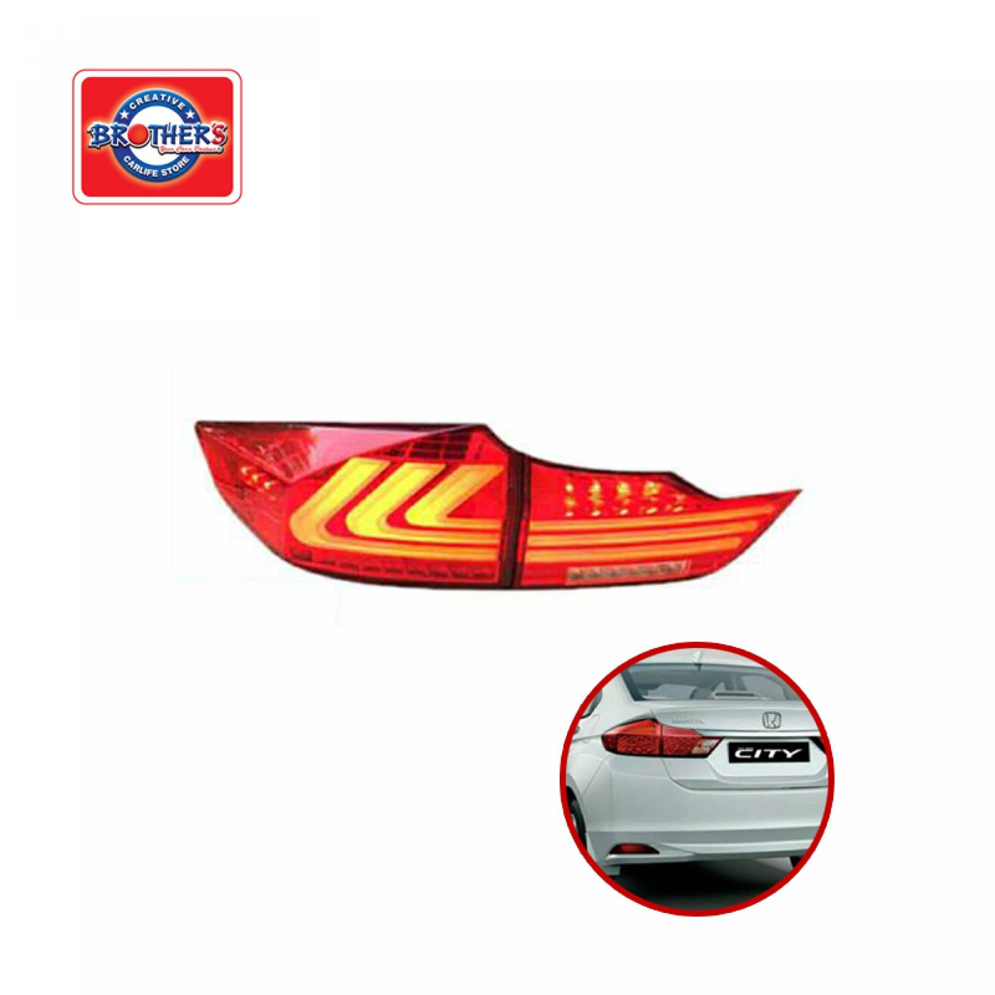 HONDA CITY 2014 LED LIGHT BAR TAIL LAMP | BROTHER\'S FACTORY OUTLET ...