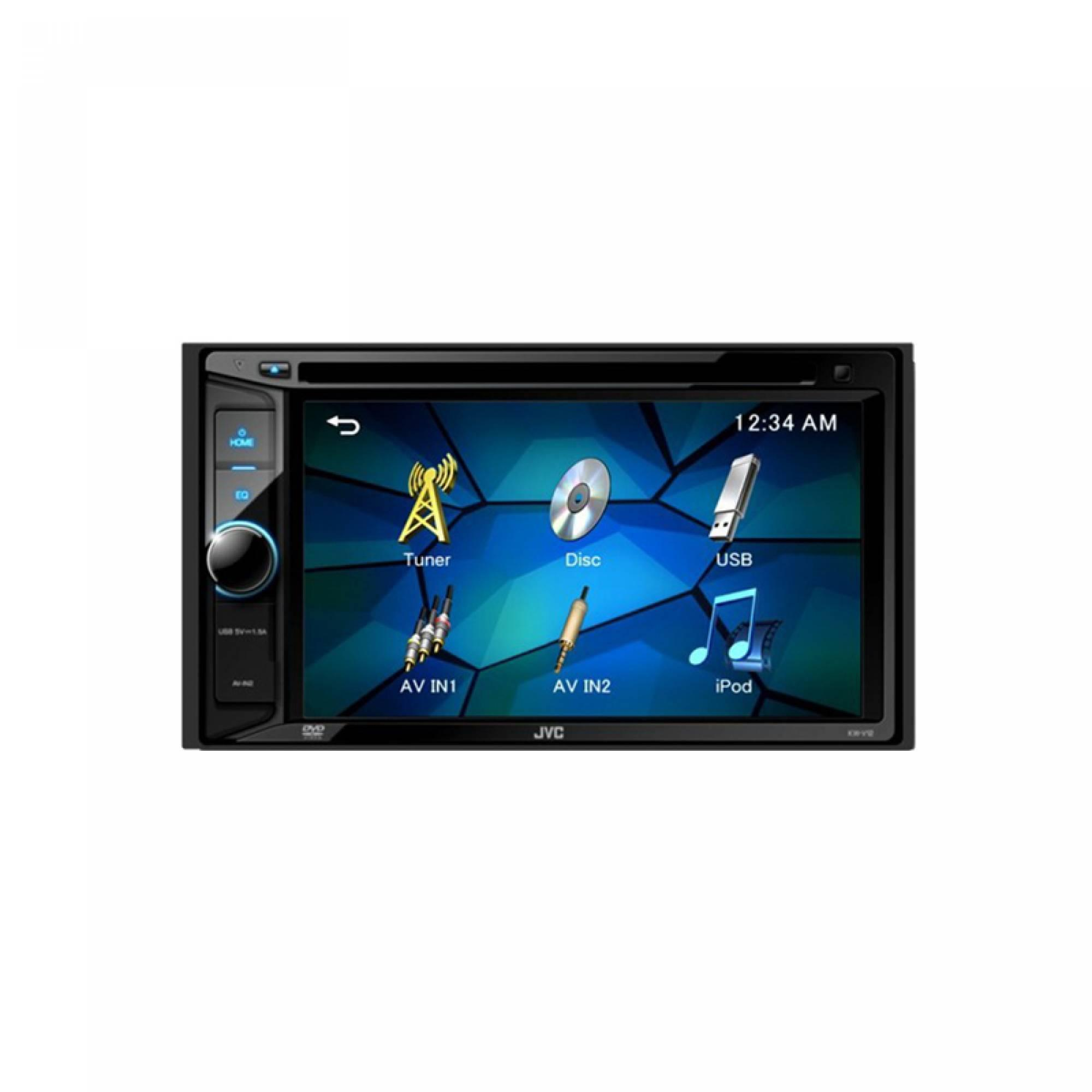 JVC KW-V12 DOUBLE DIN PLAYER | BROTHER'S FACTORY