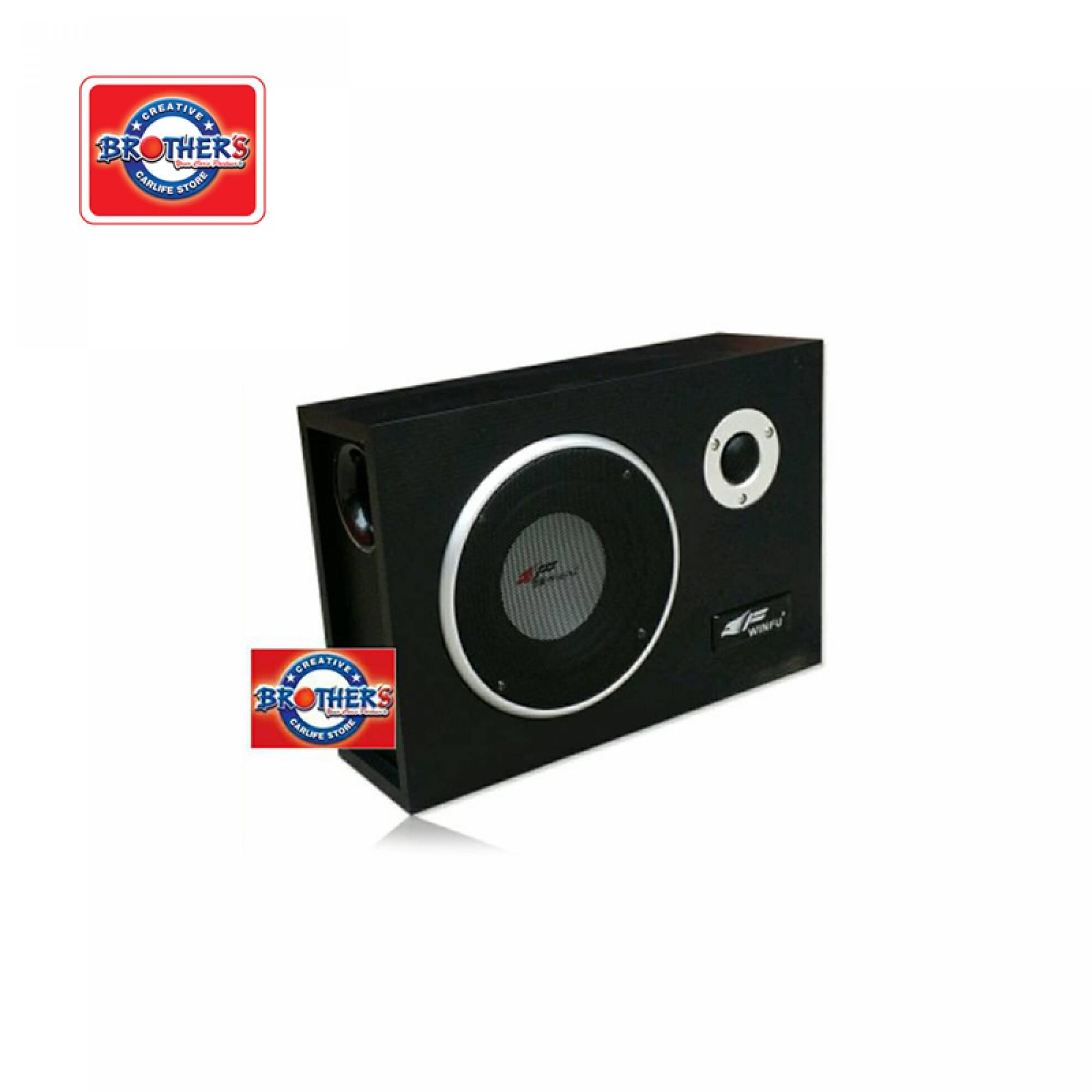 Winfu F600 Subwoofer With Amplifier Brothers Factory Outlet M Post Laju